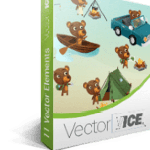 >20% Off Coupon code Bear Vector Pack - VectorVice