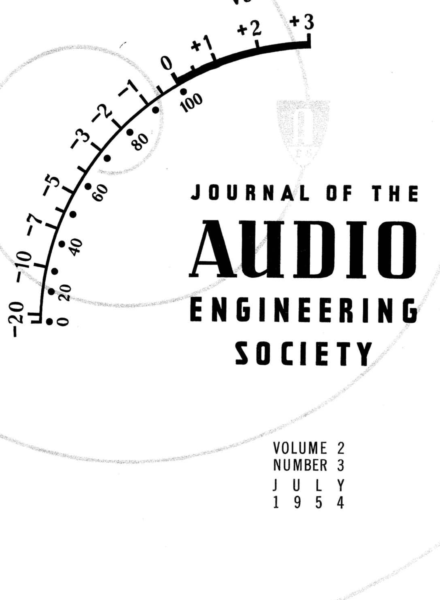 Aes E Library Complete Journal Volume 2 Issue 3