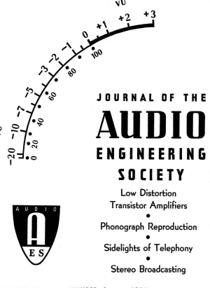 AES ELibrary » Complete Journal: Volume 11 Issue 2