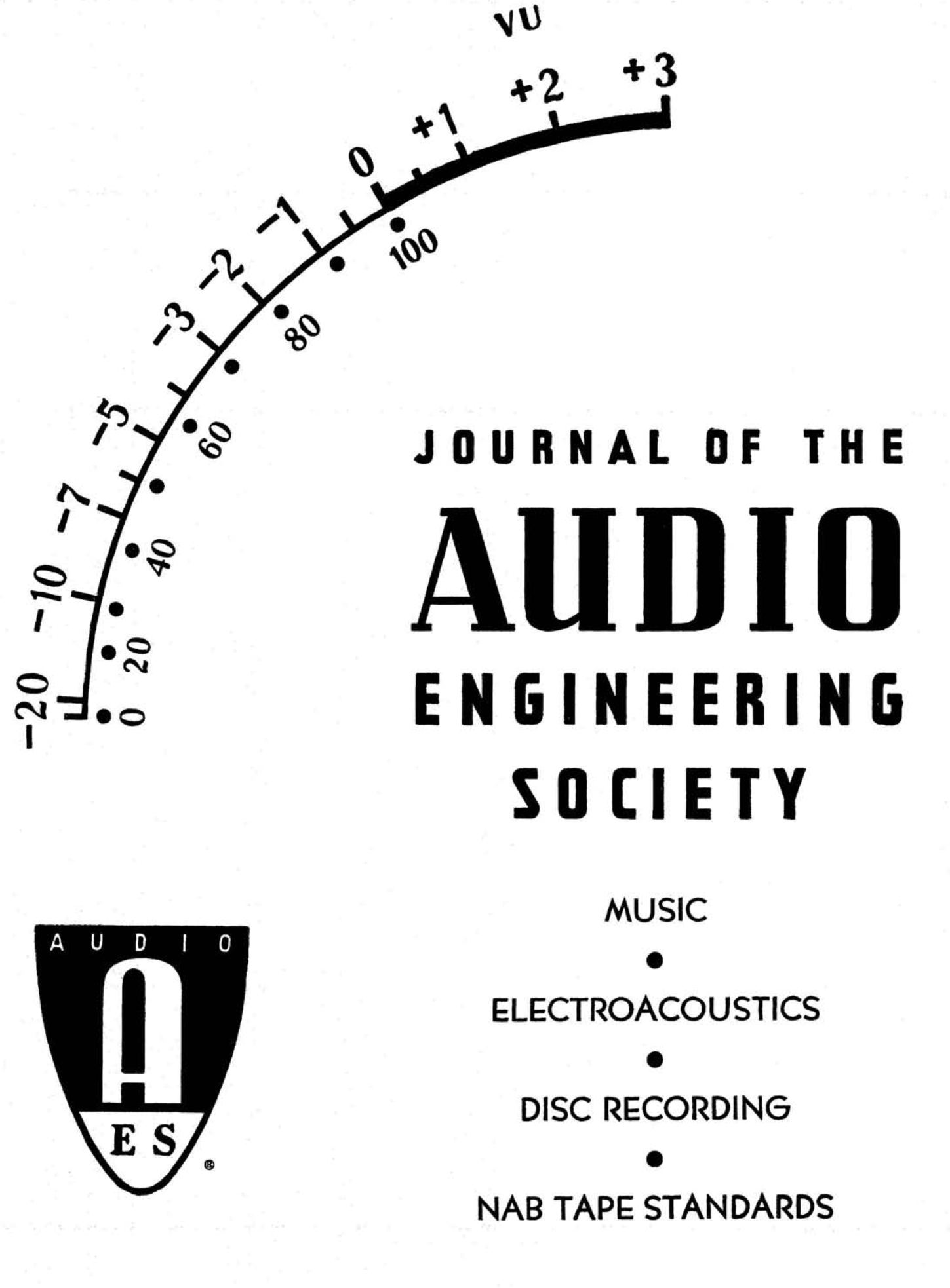 Aes E Library Complete Journal Volume 13 Issue 3
