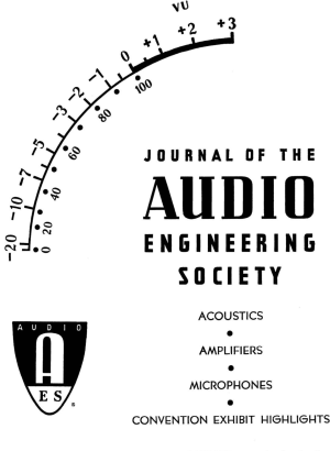 AES ELibrary » Complete Journal: Volume 13 Issue 4