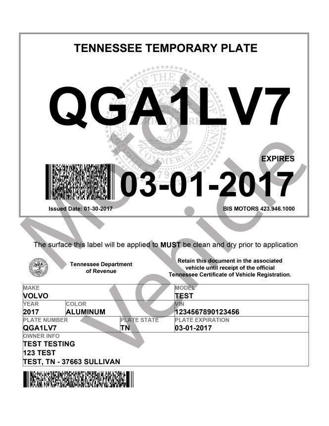Vehicle Registration Tennessee - The Best Vehicle 2018