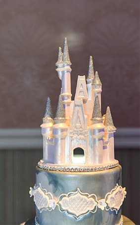 Wedding Cake Wednesday  Blue Disney Cinderella Castle   Disney     Looking for more Wedding Cake Wednesday inspiration  Visit our Dream Boards