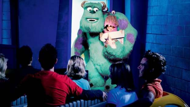 Monster's Inc at Disneyland, Boo from Monster's Inc Pictures