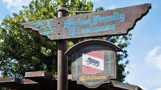 Swiss Family Treehouse Swiss Flag