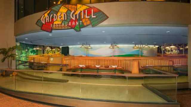 Garden Grill Restaurant at Epcot offers an ever-changing view of Living with the Land attraction