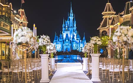 Florida Wishes Wedding Venues Disneys Fairy Tale