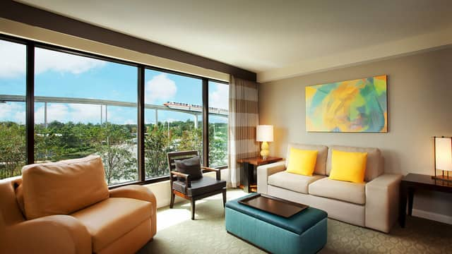 Bay Lake Tower Two Bedroom Villa Floor Plan