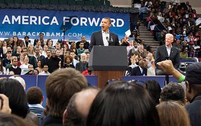 Image result for obama & his midterm in 2010