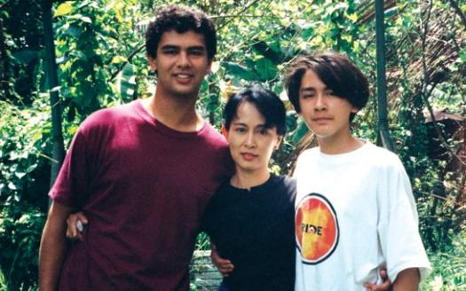 The pain of Aung Sun Suu Kyi's sons, parted from their ...