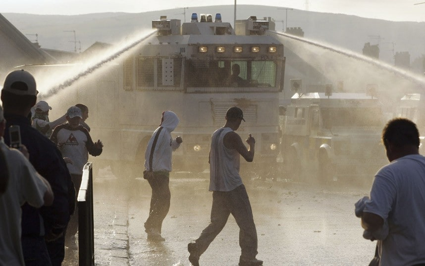 Water Cannon Set To Be Deployed Across Britain Amid Fears