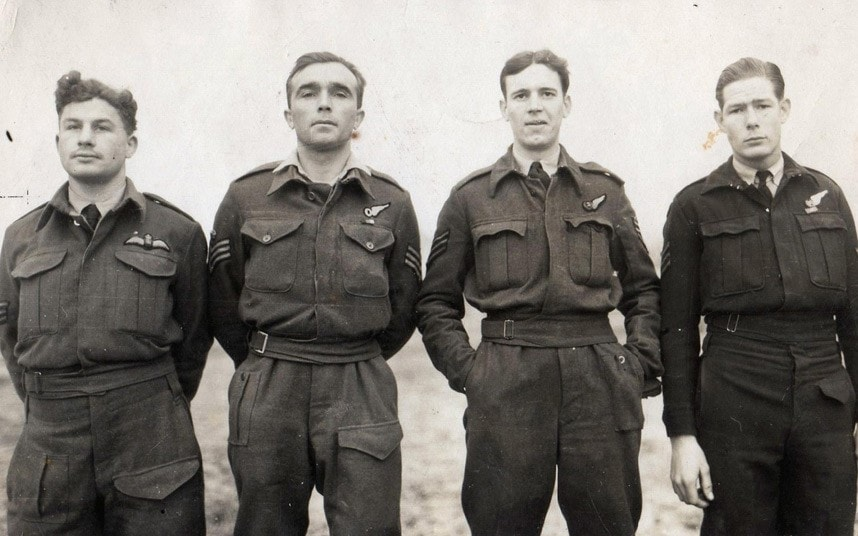 Raf Crew Shot Down In Italy To Be Buried In Military Ceremony Today Telegraph