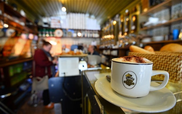 Coffee Bars And Charity Shops Replacing Traditional Stores