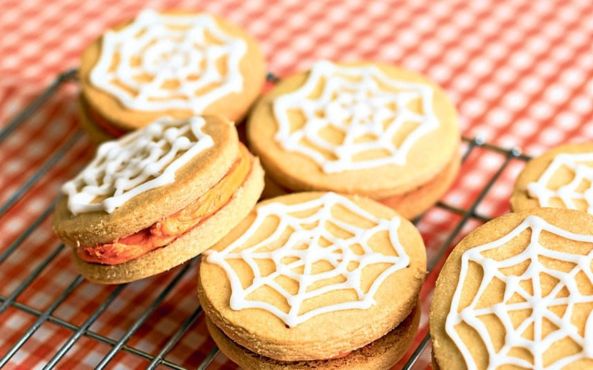 Rose Prince S Baking Club Halloween Spider Web