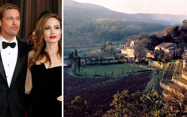 Angelina Jolies France Chalet