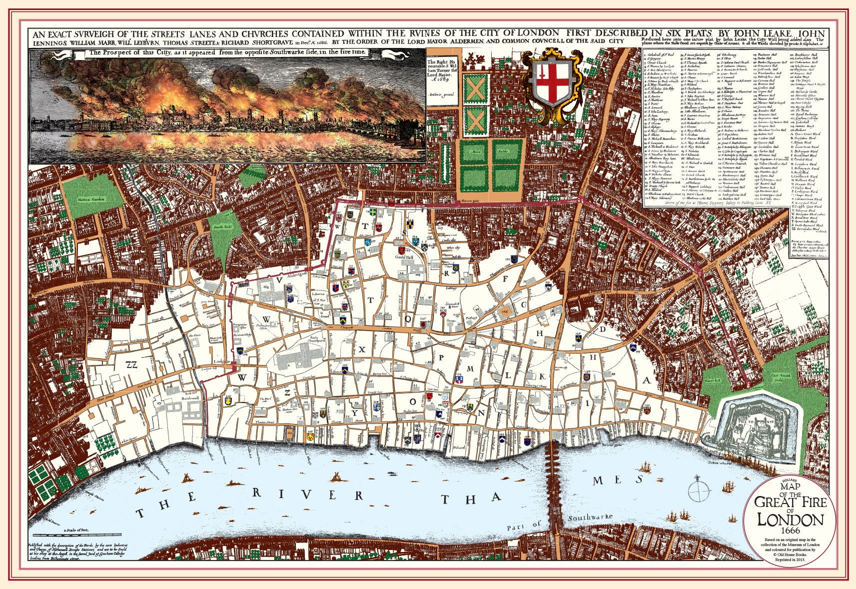 Map Fire Historical London Maps