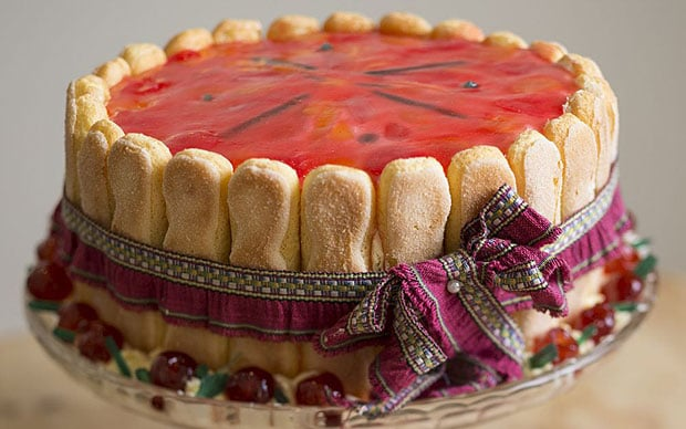Video Downton Abbey Christmas Dessert Recipe Charlotte