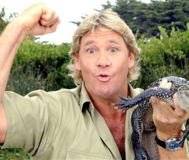 Crocodile Hunter Steve Irwin Stabbed Hundreds Of Times By