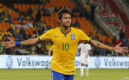 Image result for Neymar named in Brazil's 23-man World Cup squad