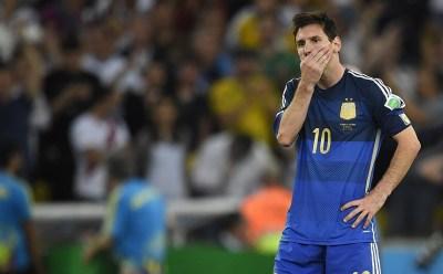 Image result for messi argentina sad
