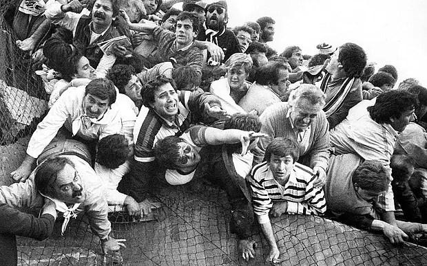"""Image result for Heysel disaster"""""""