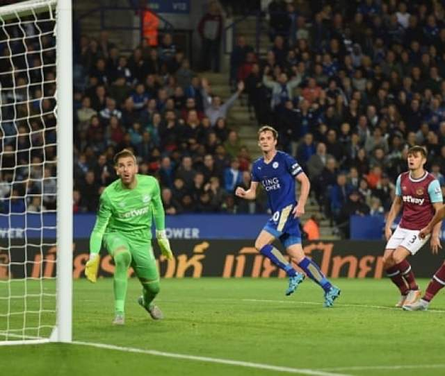 Leicester City 2 West Ham United 1 Capital One Cup Match Report Andy King Crowns Leicester After Royal Struggle