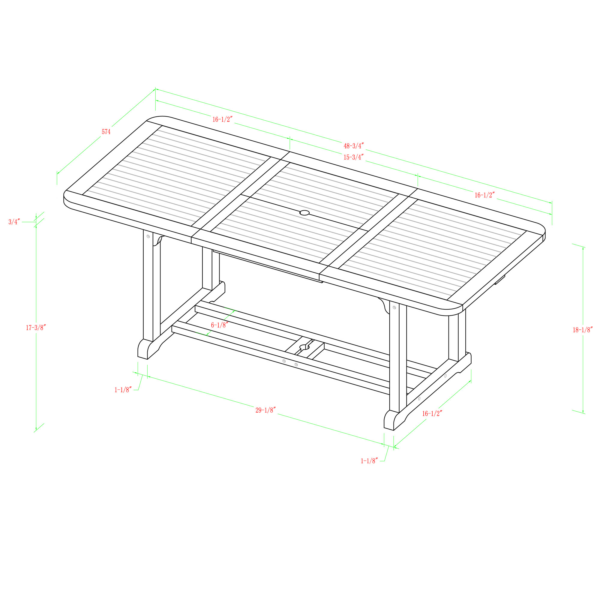 Home Loft Concepts 4 Piece Bench Seating Group With