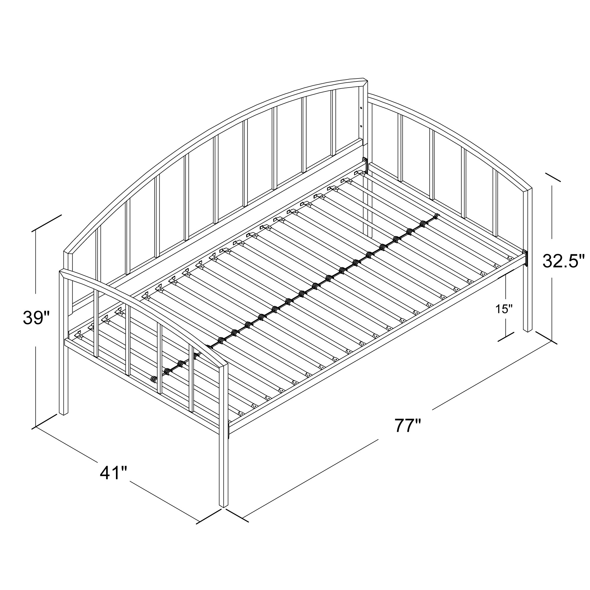 Andover Mills Barium Daybed Amp Reviews