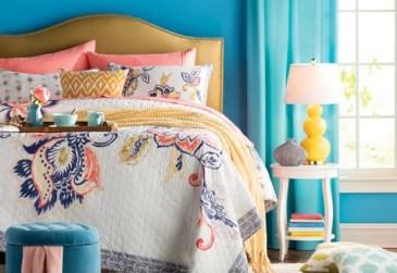 The Pop-of-Color Bedroom