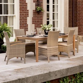 Oxford Garden Hampton And Torbay 7 Piece Seating Group