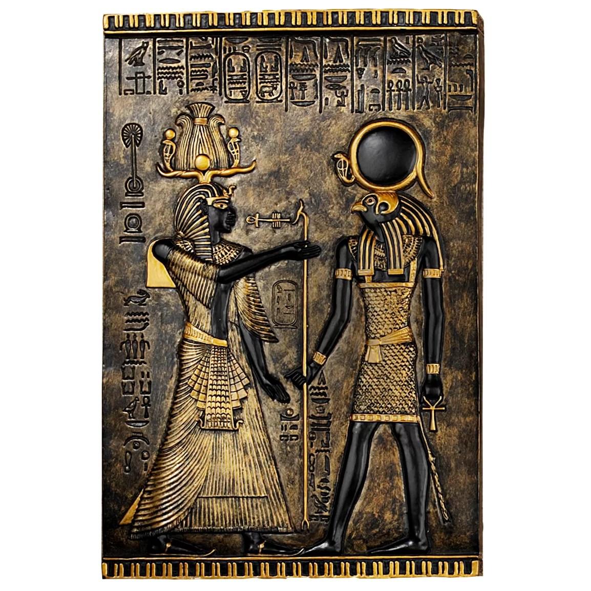 Design Toscano Egyptian Temple Stele Horus Wall Decor