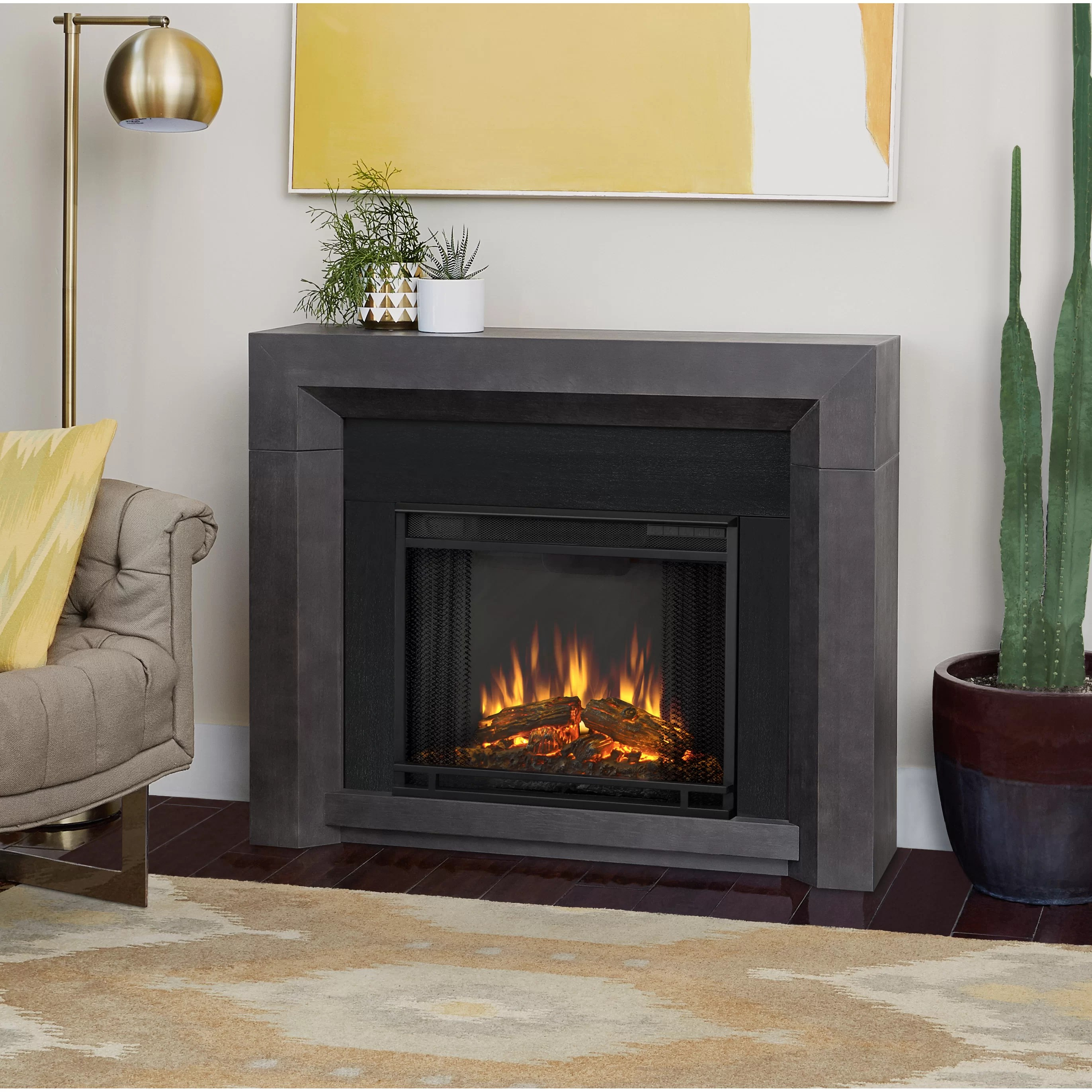 Real Flame Hughes Electric Fireplace Amp Reviews