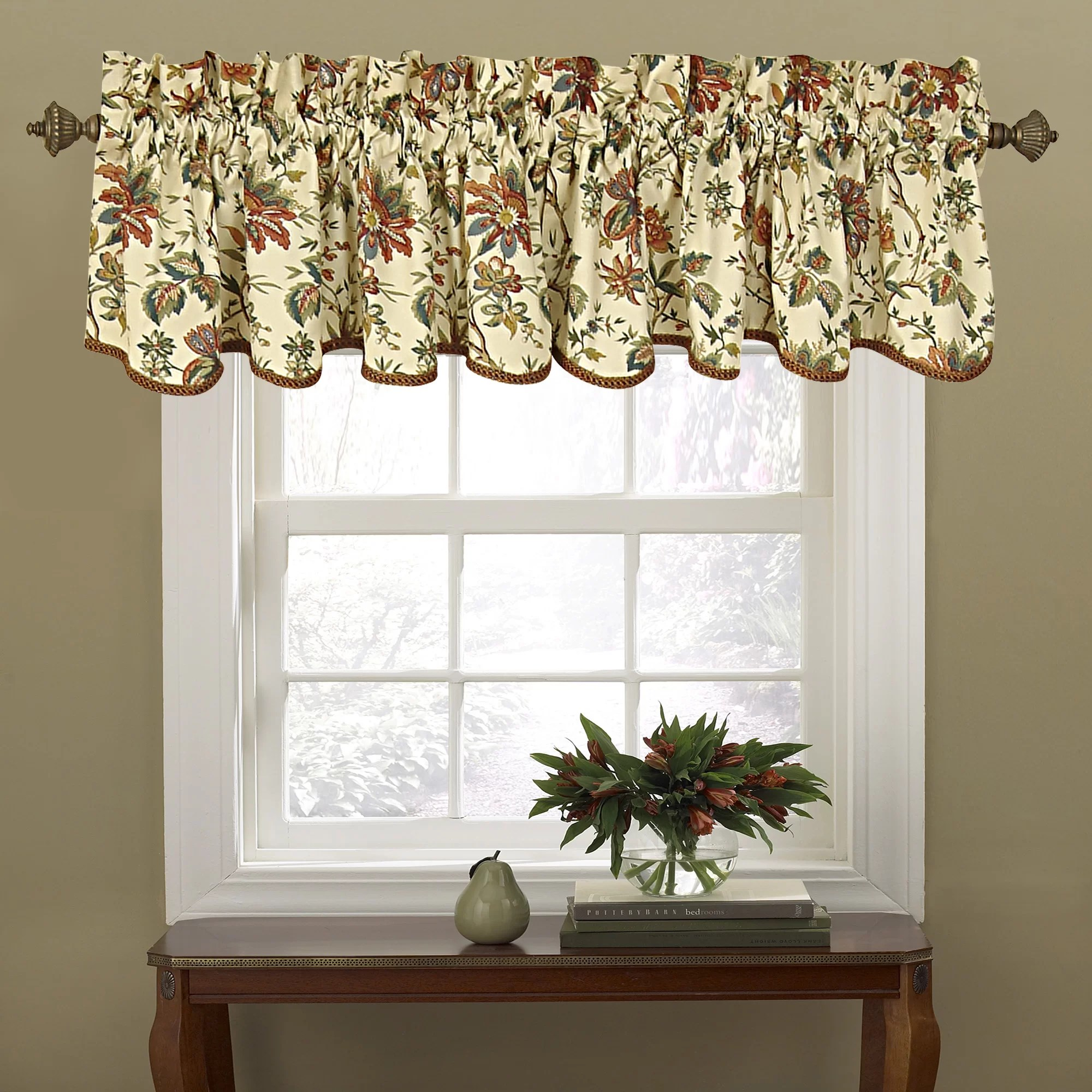 Waverly Felicite 50 Curtain Valance Amp Reviews