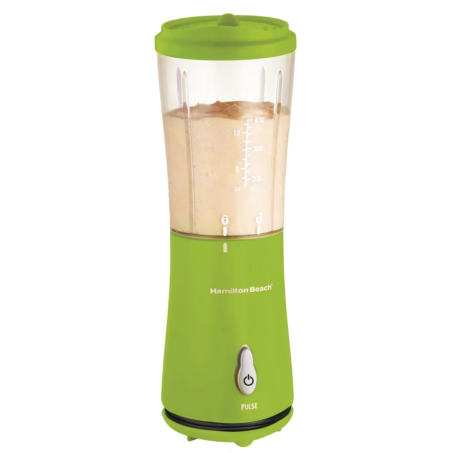 Hamilton Beach Personal Blender With Travel Lid Amp Reviews