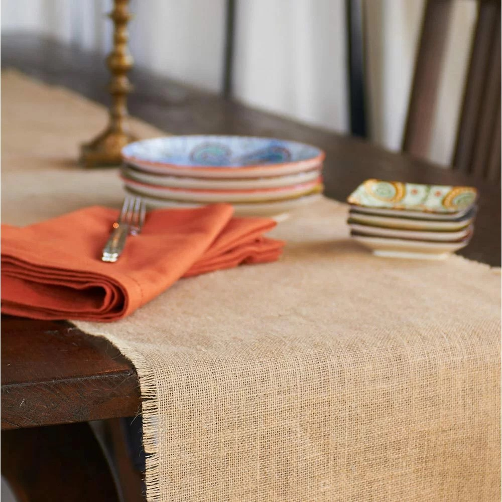 Burlap Tablecloth Runners