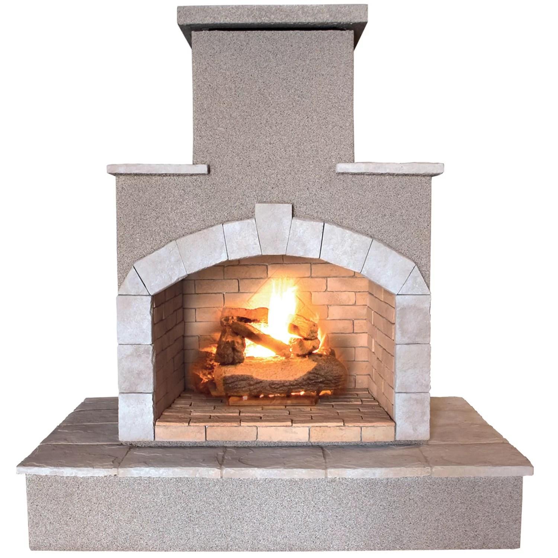 Calflame Propane Gas Outdoor Fireplace Amp Reviews