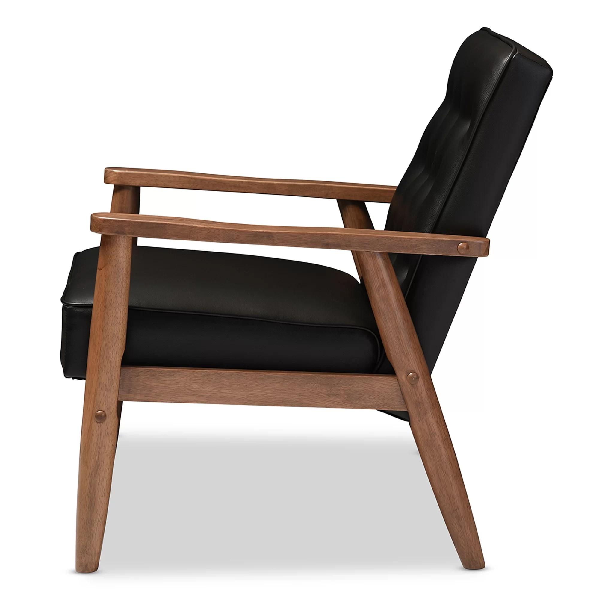 Wholesale Interiors Baxton Studio Lounge Chair Amp Reviews