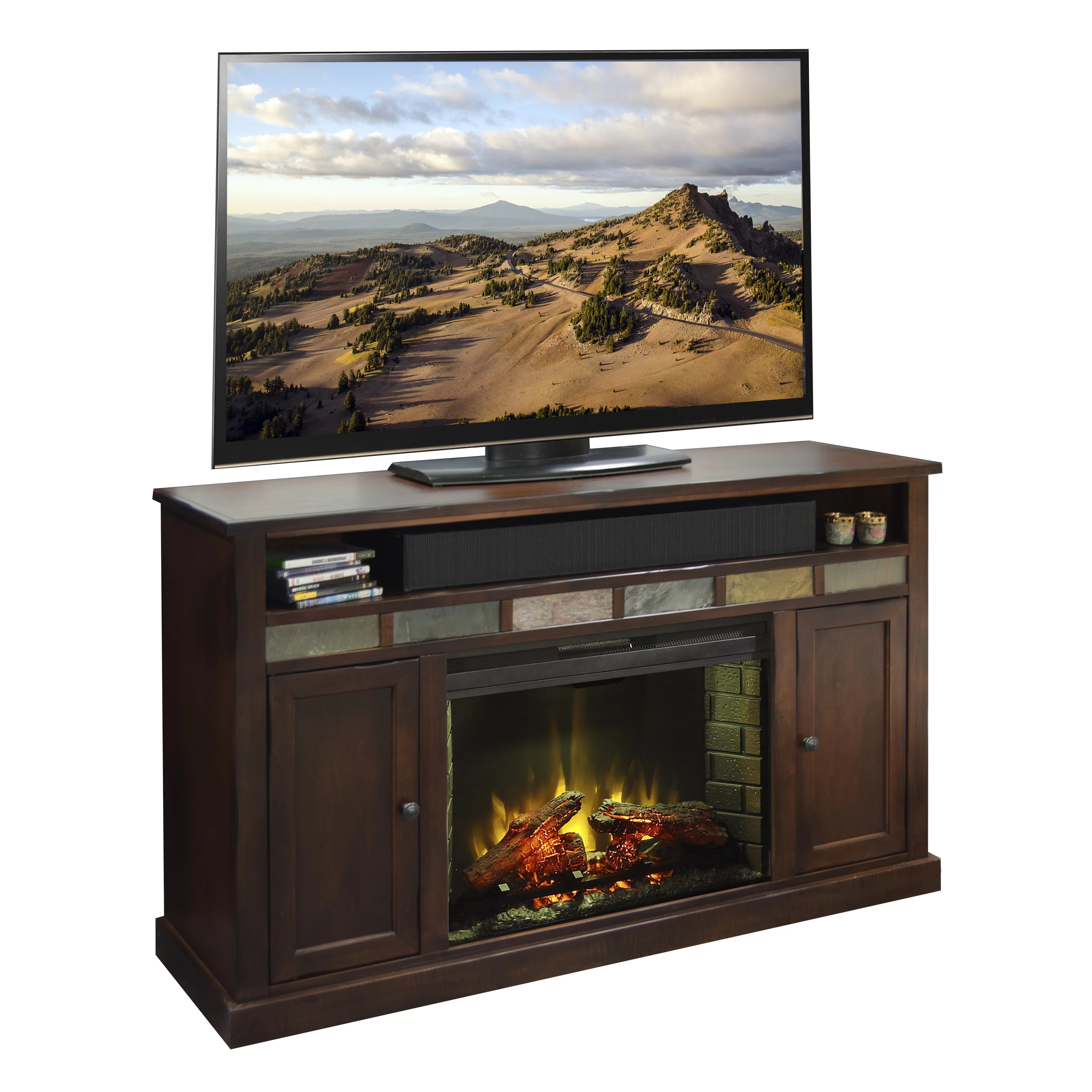 Sale Electric Fireplace Tv Stand