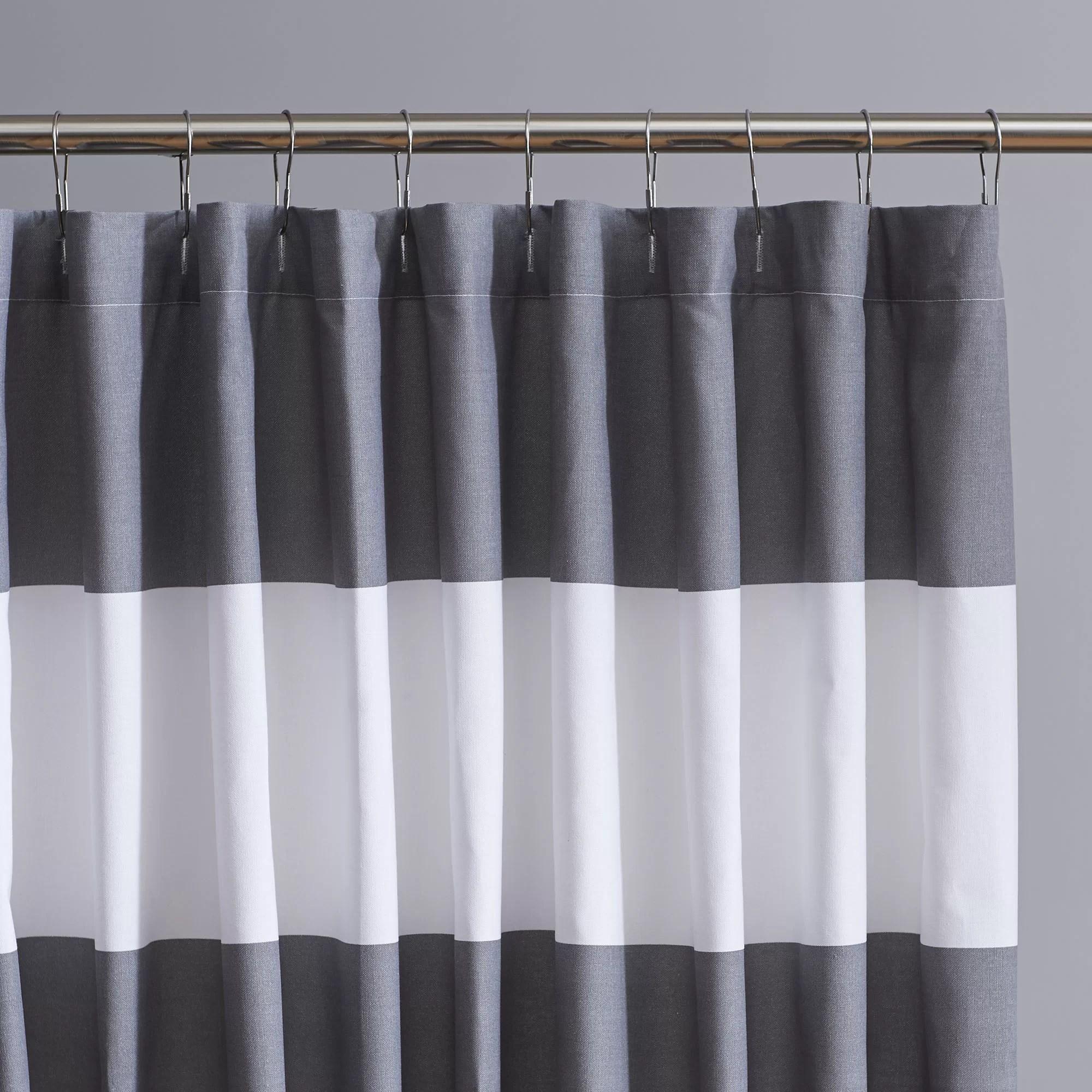Birch Lane Harlow Striped Shower Curtain Amp Reviews Wayfairca