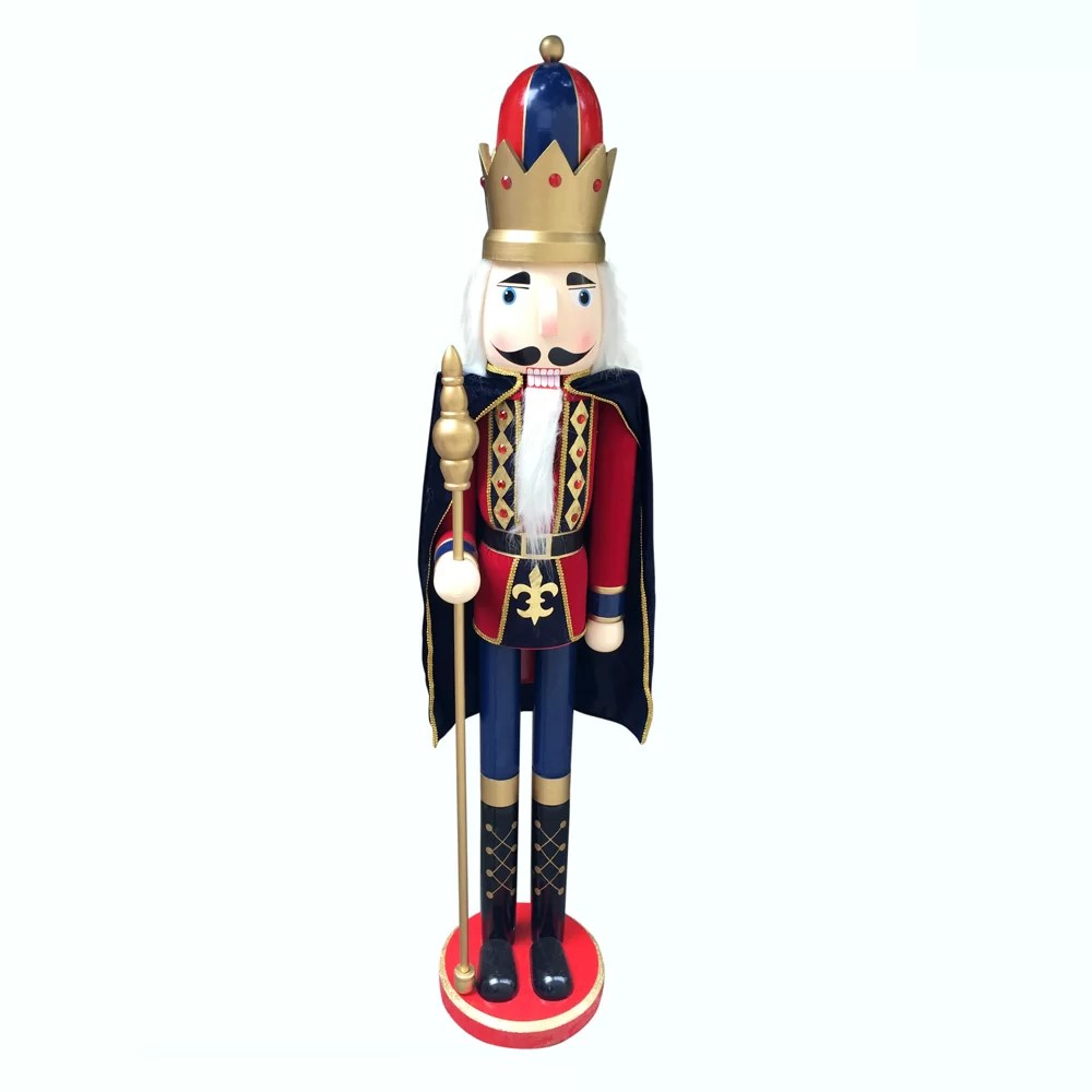 Jeco Inc Delux Nutcracker King With Cape Amp Reviews