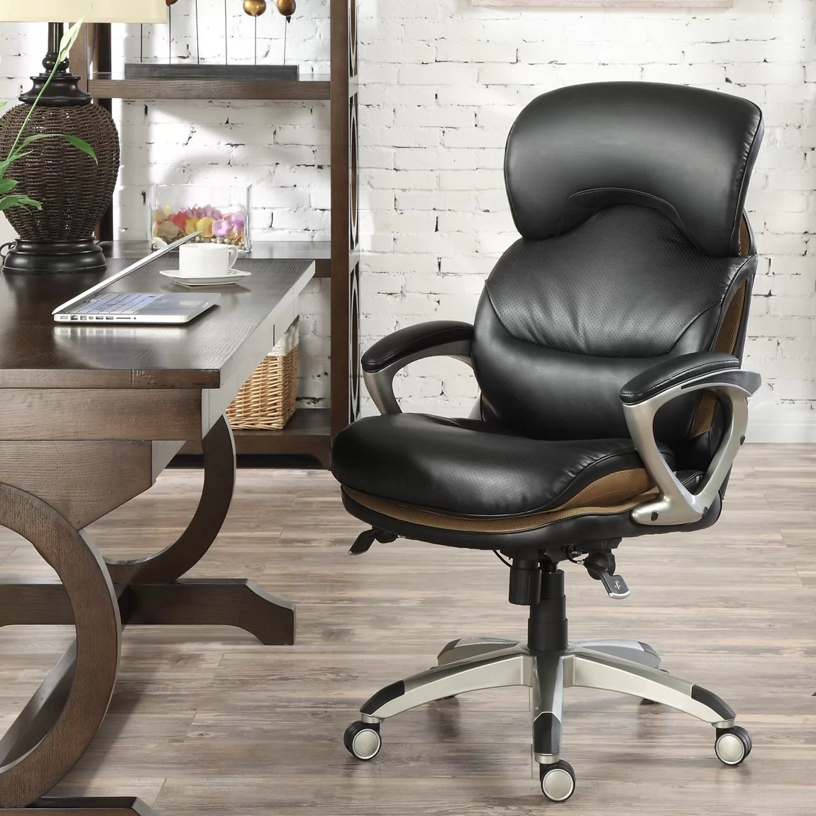 serta at home airtm health and wellness executive office chair. amazoncom serta back in motion health and wellness executive at home airtm office chair