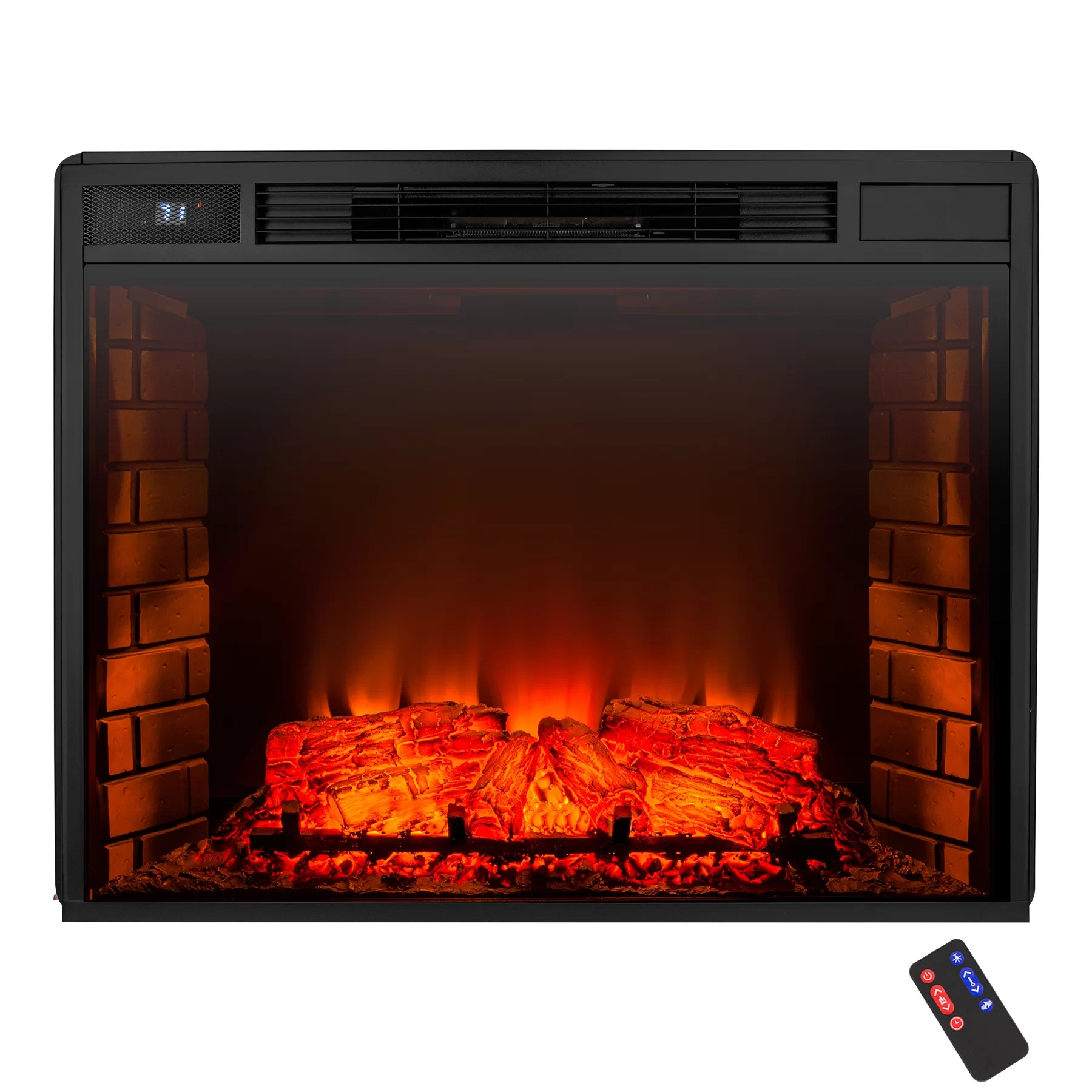 Akdy Freestanding Electric Fireplace Insert Amp Reviews