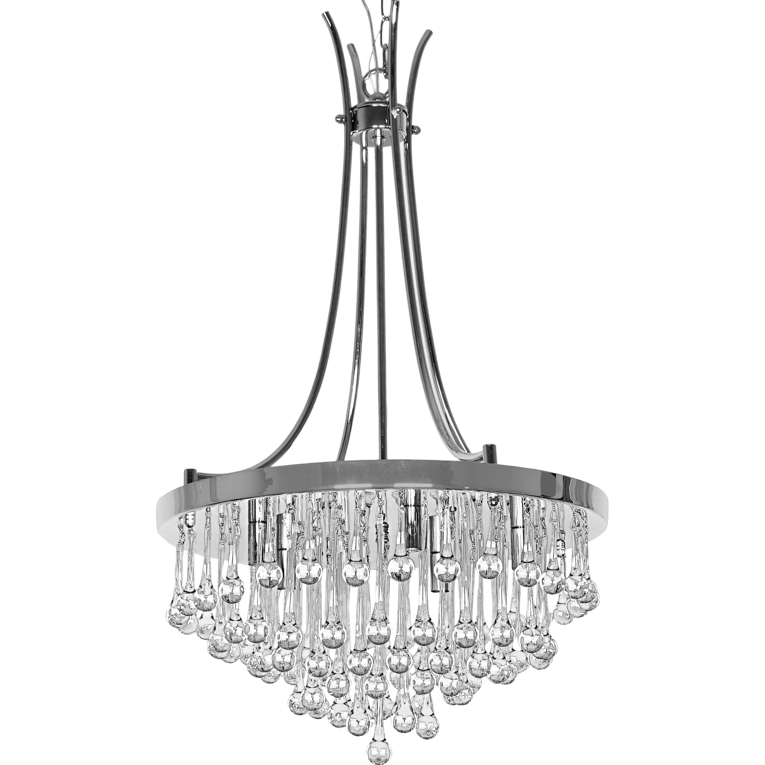 Wellyer Bacchus 5 Light Crystal Chandelier Amp Reviews