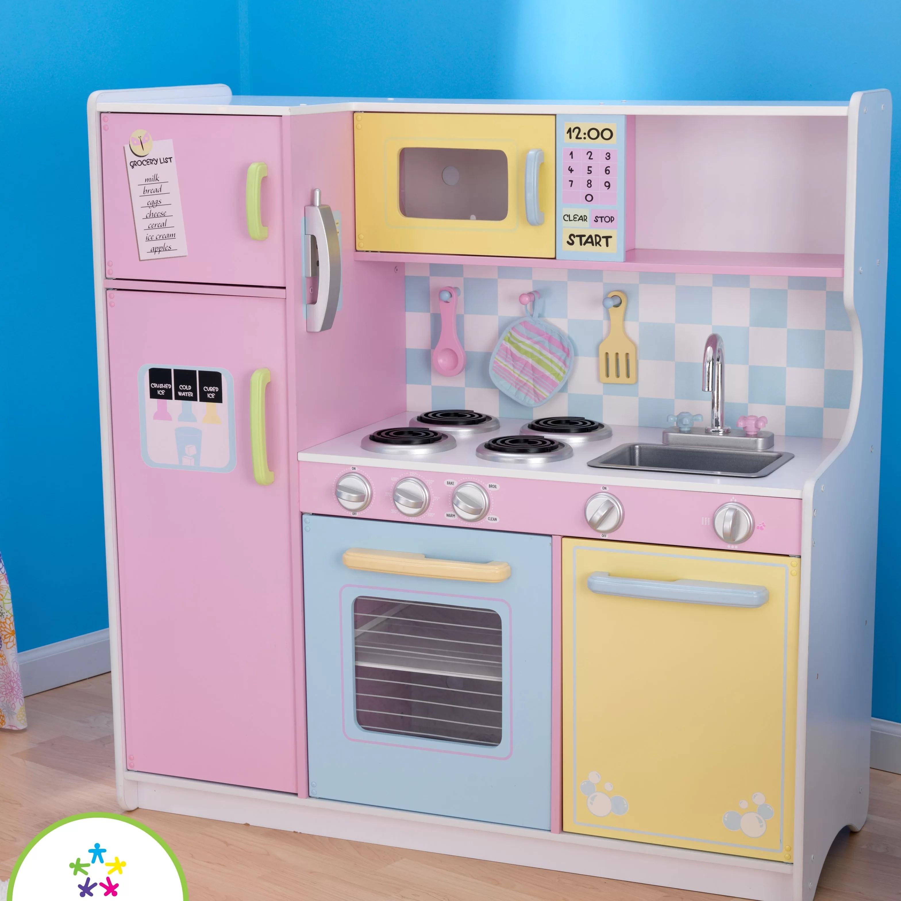 Kidkraft Large Pastel Kitchen Replacement Parts Novocom Top
