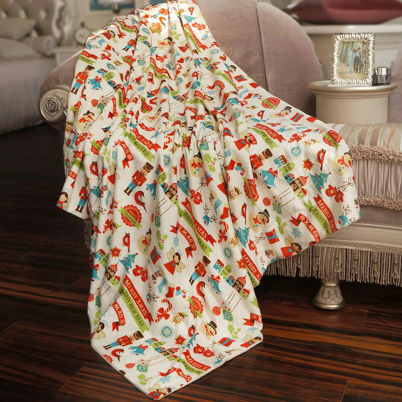 Home Accents Fleece Blanket