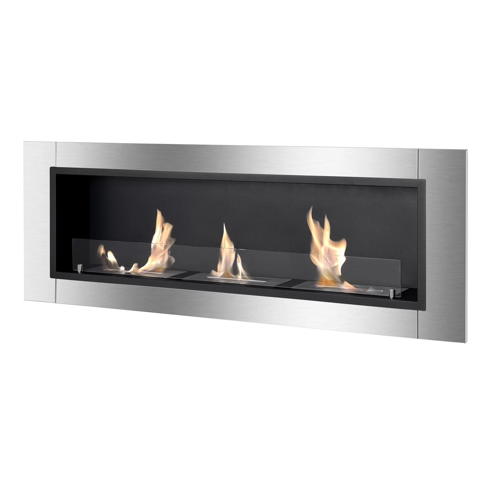 Ignis Ardella Wall Mount Bio Ethanol Fireplace Amp Reviews