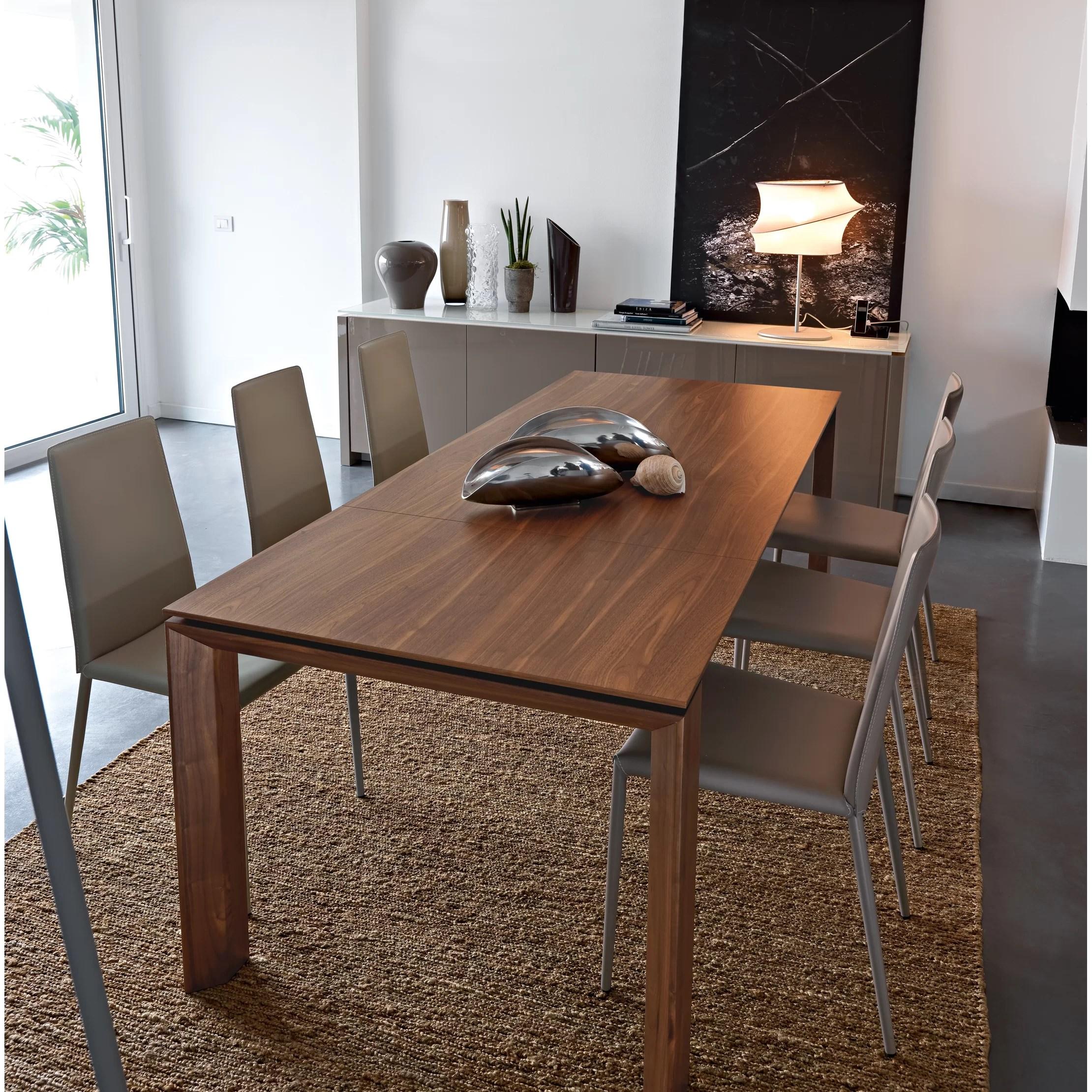 Calligaris Omnia Extendable Dining Table Amp Reviews Wayfair