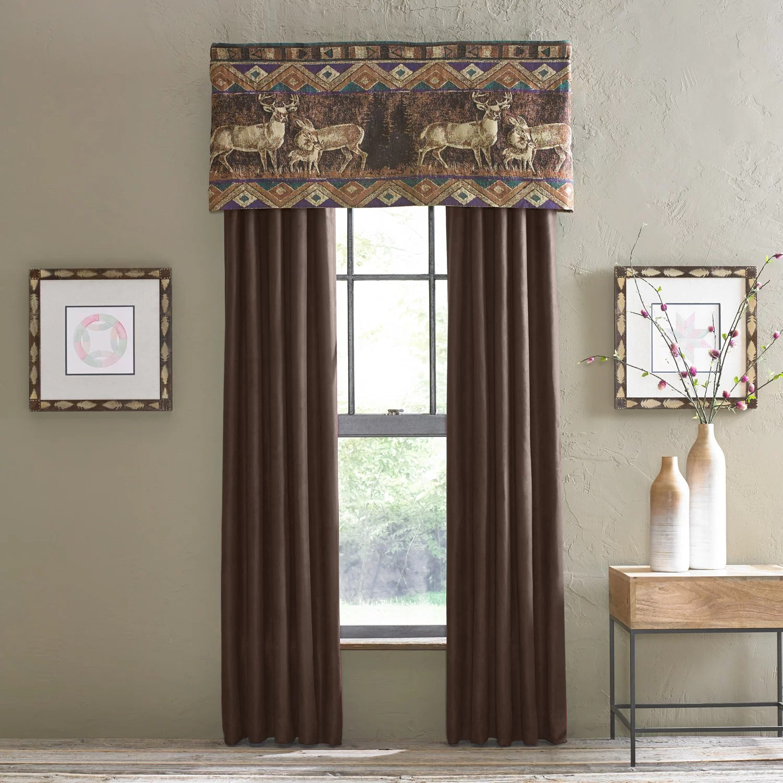 Croscill Chippewa 54 Curtain Valance