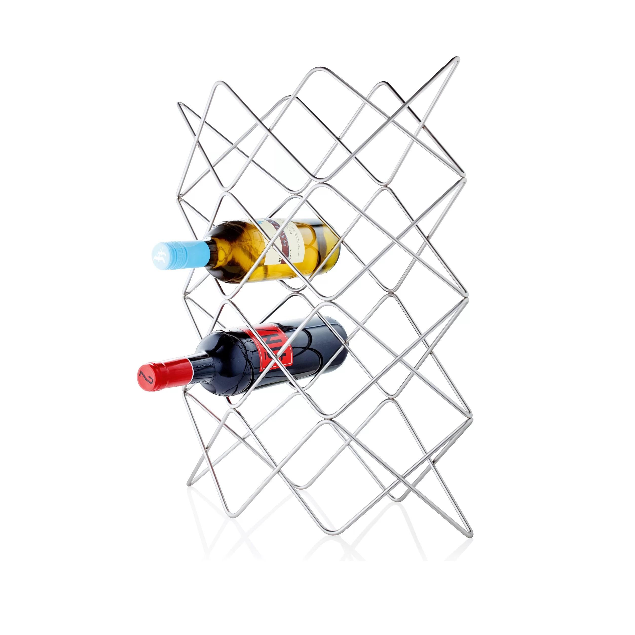 Blomus Vino 12 Bottle Tabletop Wine Rack