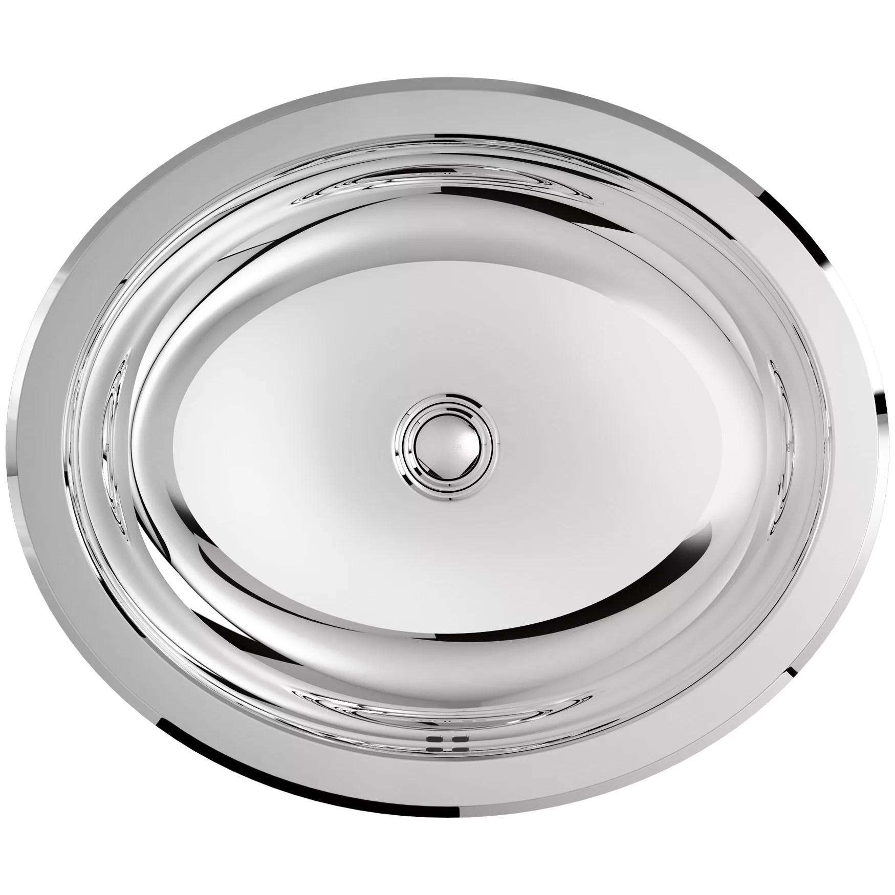 Kohler Bachata Drop InUndermount Bathroom Sink With